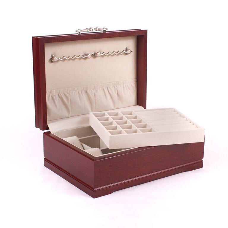 Sophistication Jewelry Box Finish: Mahogany By American Chest