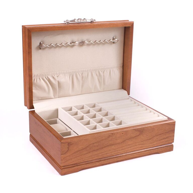 Sophistication Wooden Jewelry Box By American Chest