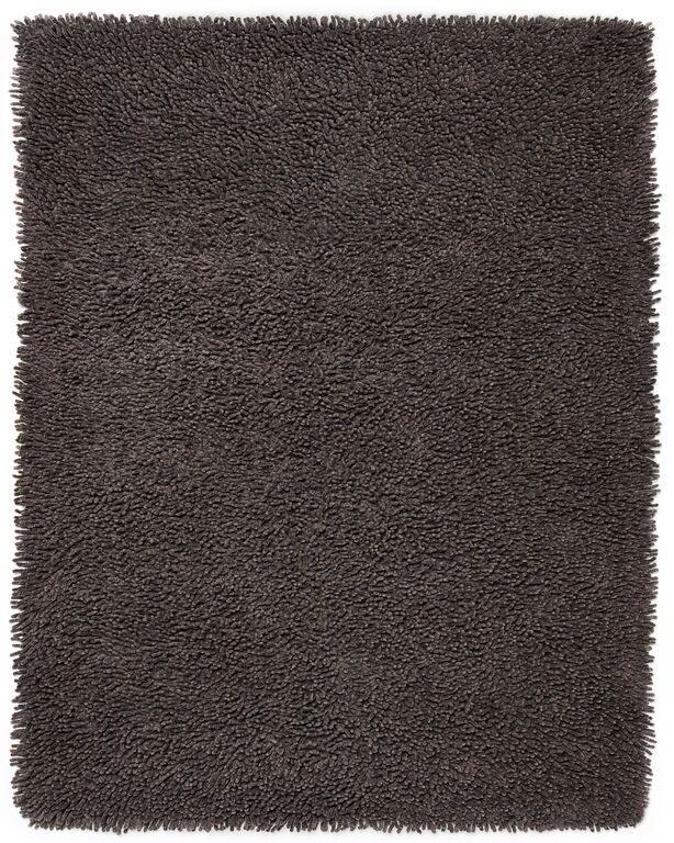 Anji Mountain Graphite Silky Shag Area Rug