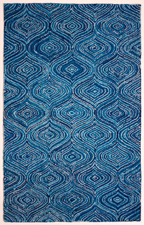Anji Mountain Lantern Blue Skies Area Rug