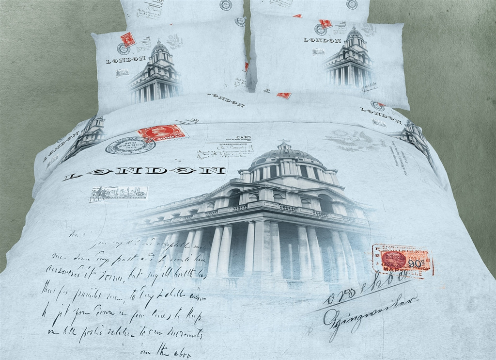 Dolce Mela Novelty Bedding Twin Size 4 Piece Duvet Cover Sets