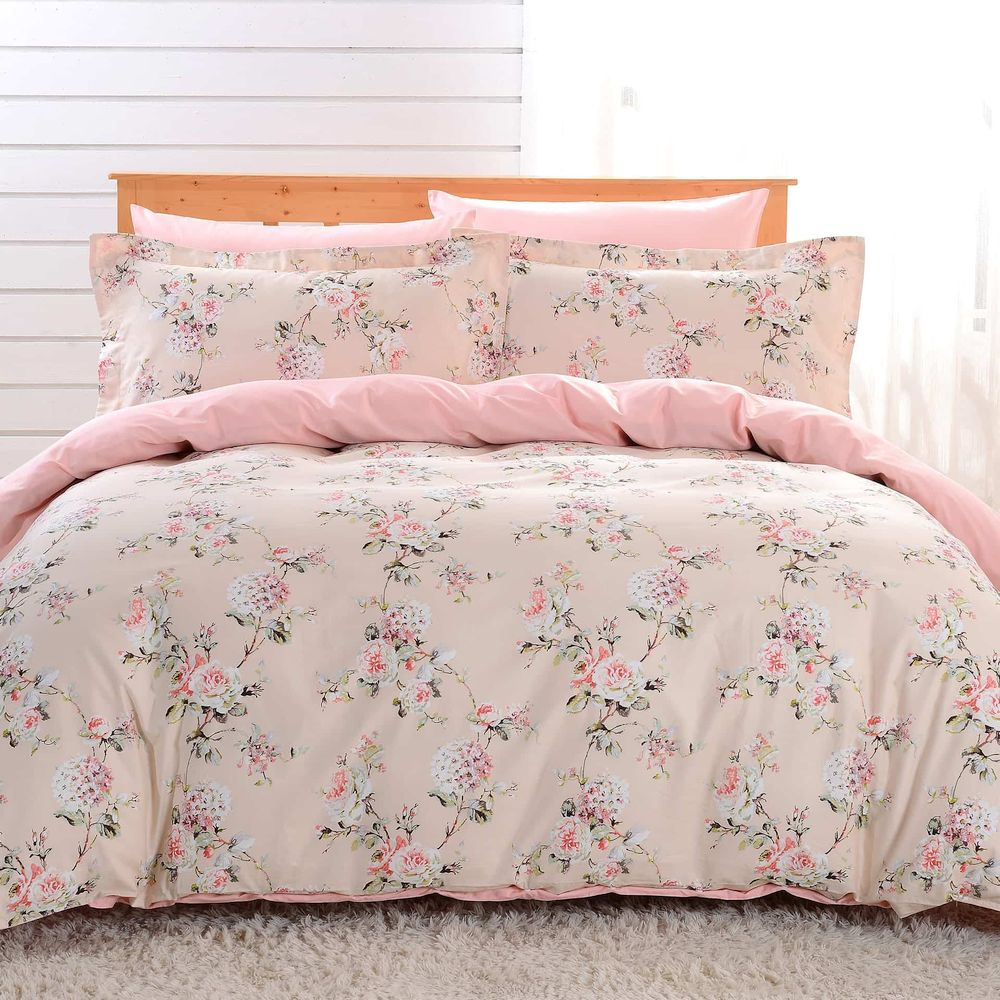 Duvet Cover Sheets Set, Dolce Mela Seres Queen Size Bedding