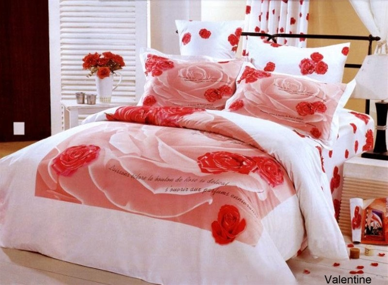 Le Vele Girls Teen Bedroom Bedding Floral Twin Duvet Cover Set