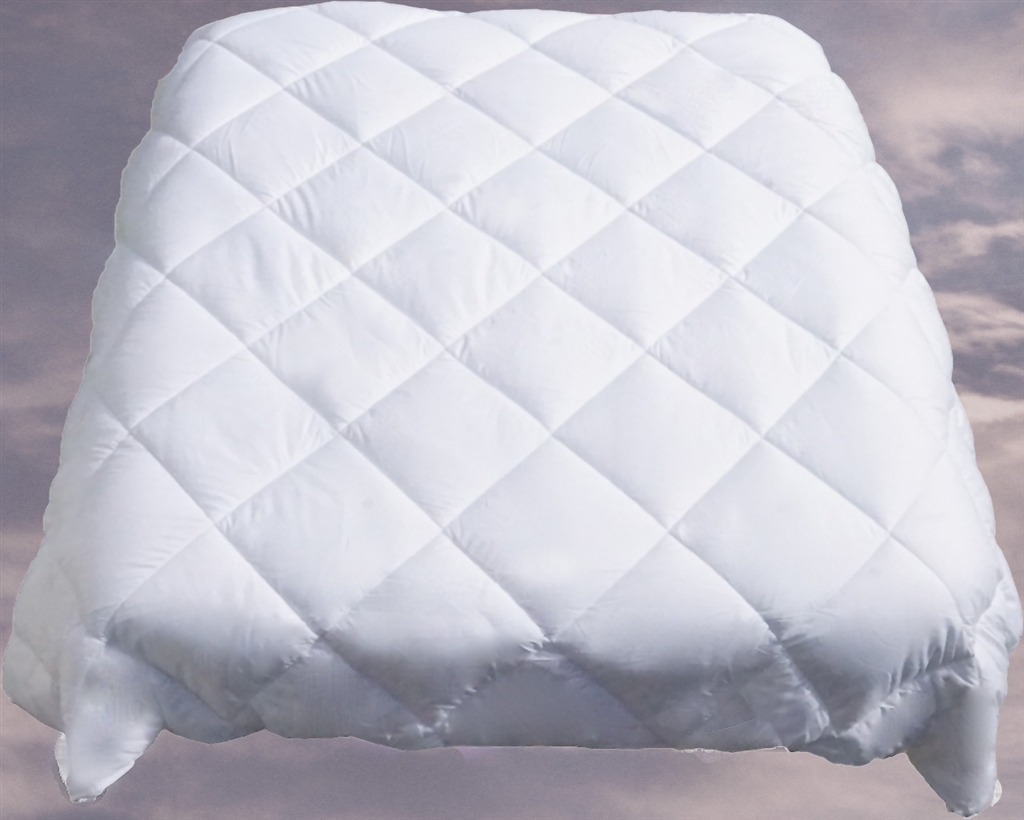 Le Vele Twin Duvet Cover Filler White Goose Down Alternative Comforter