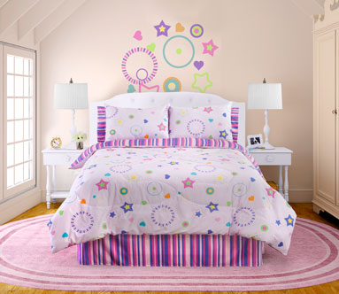 Veratex Star Dance Comforter Bed Set