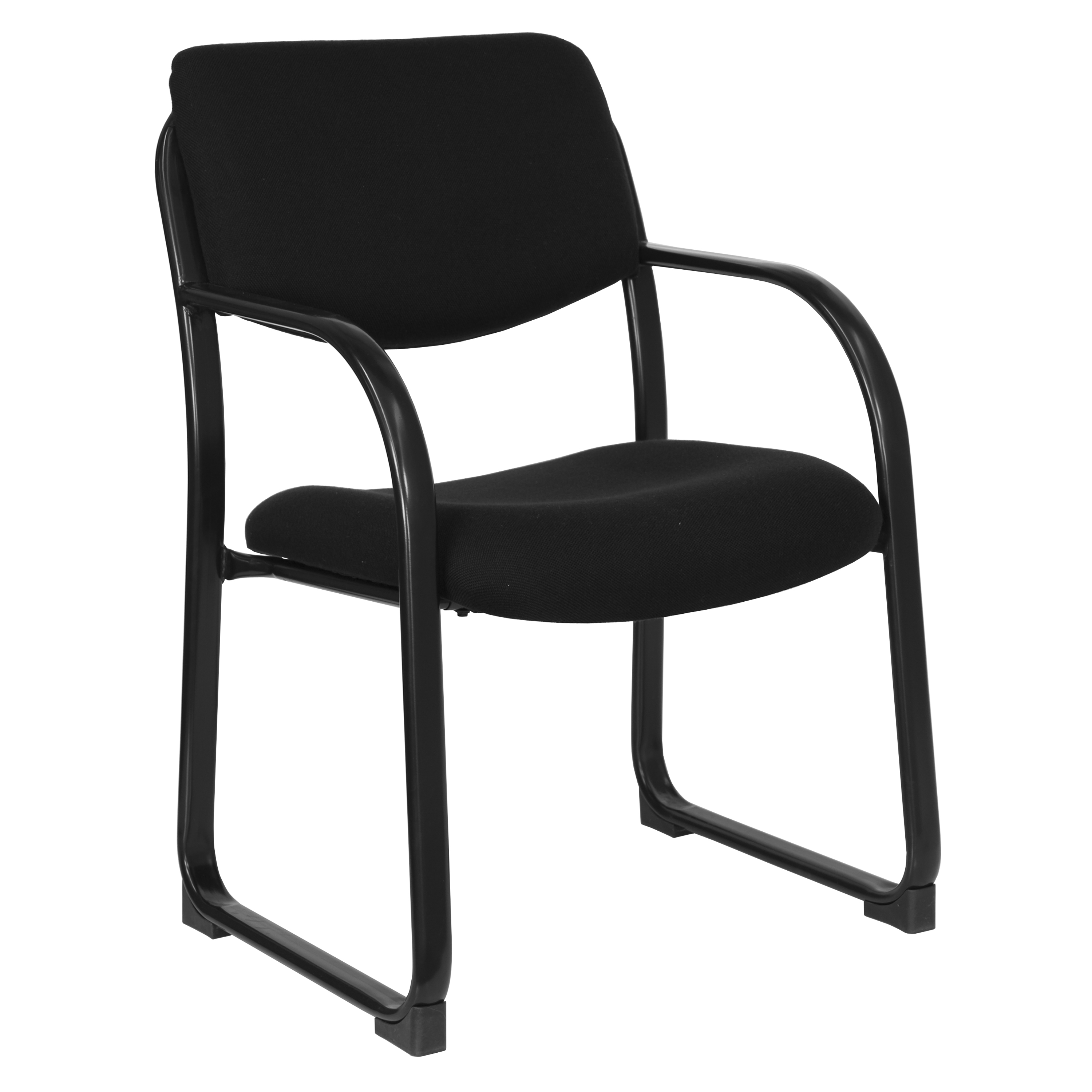 Flash Furniture  Executive Side Chair Black Fabric Upholstery