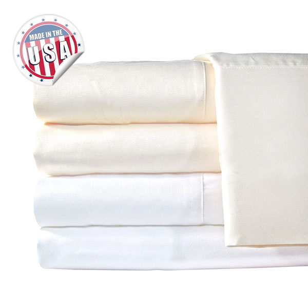 Veratex 1200Tc Solid Pillowcase Pair