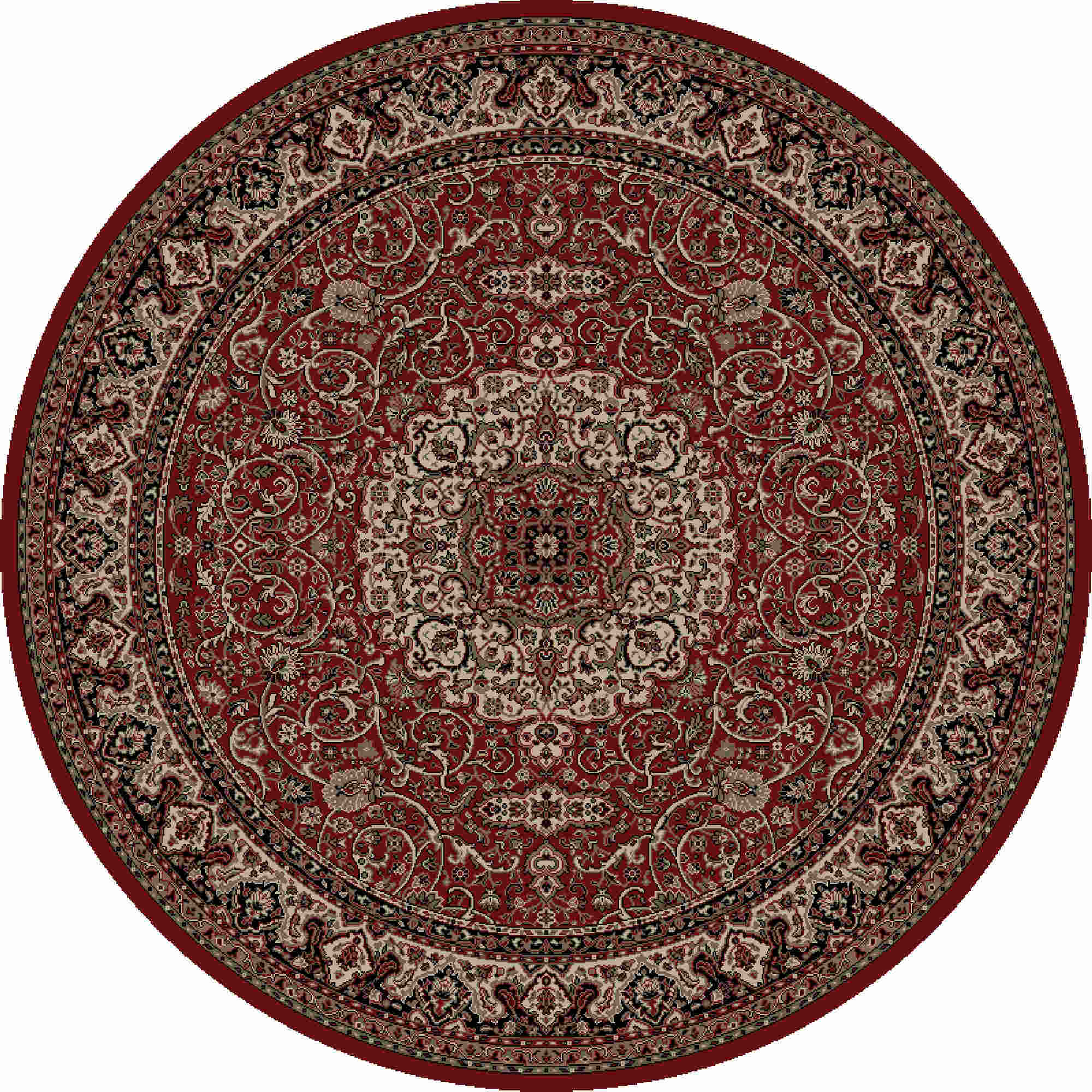 Isfahan Red  2' X 3'