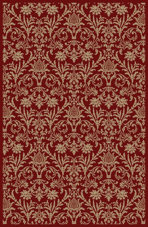 Damask Red 2'7x4'