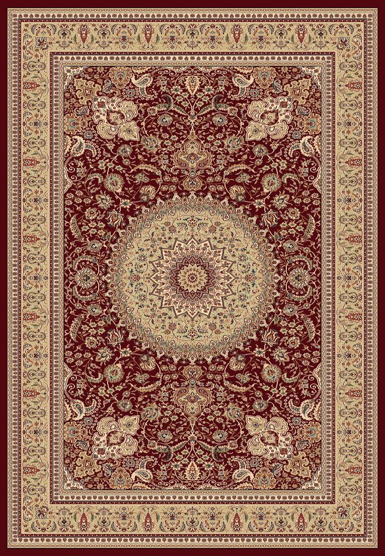 Tabriz  Red 5'3x7'3