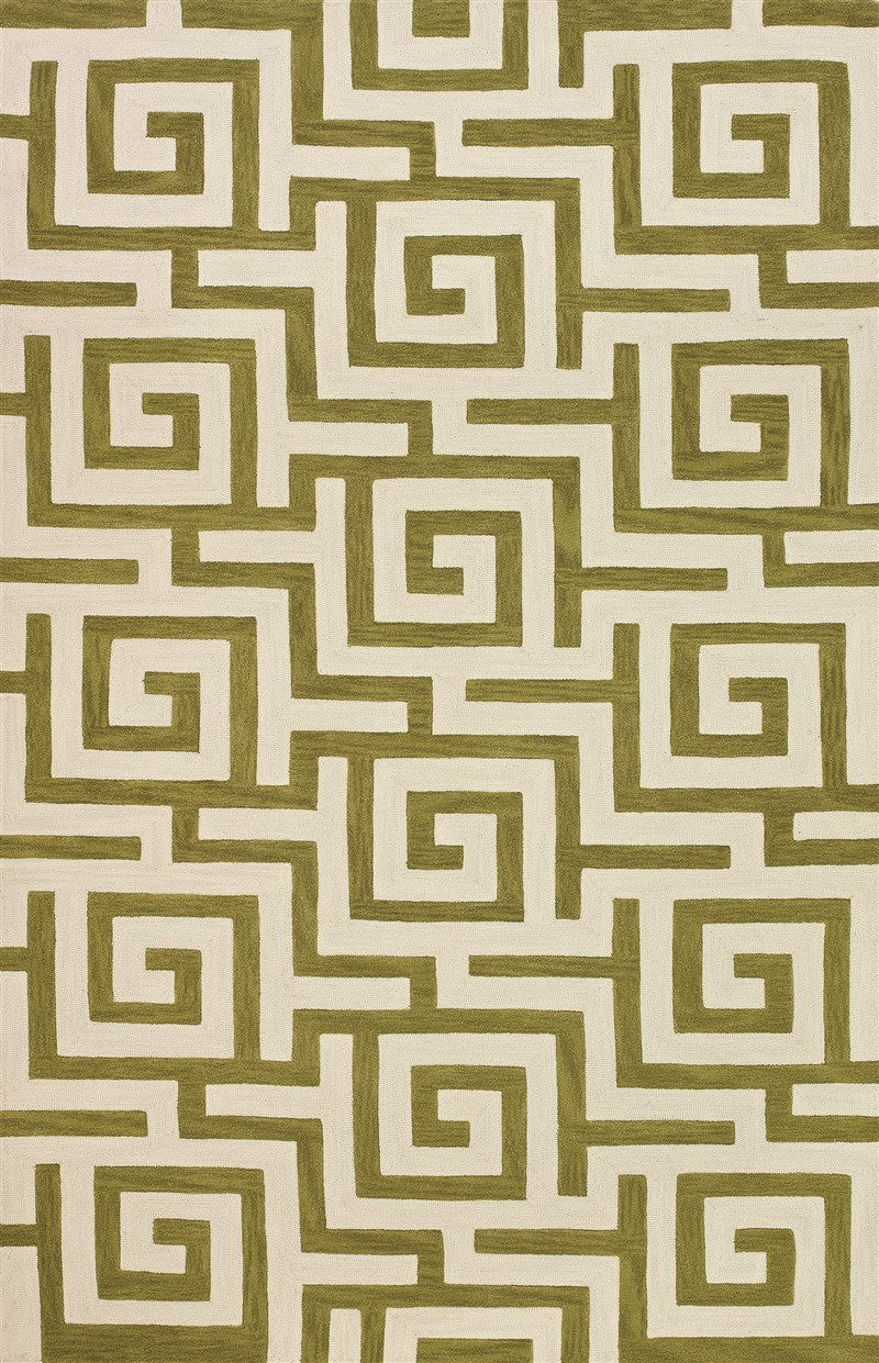 Contemporary Forever Citron 3'6x5'6 Rug