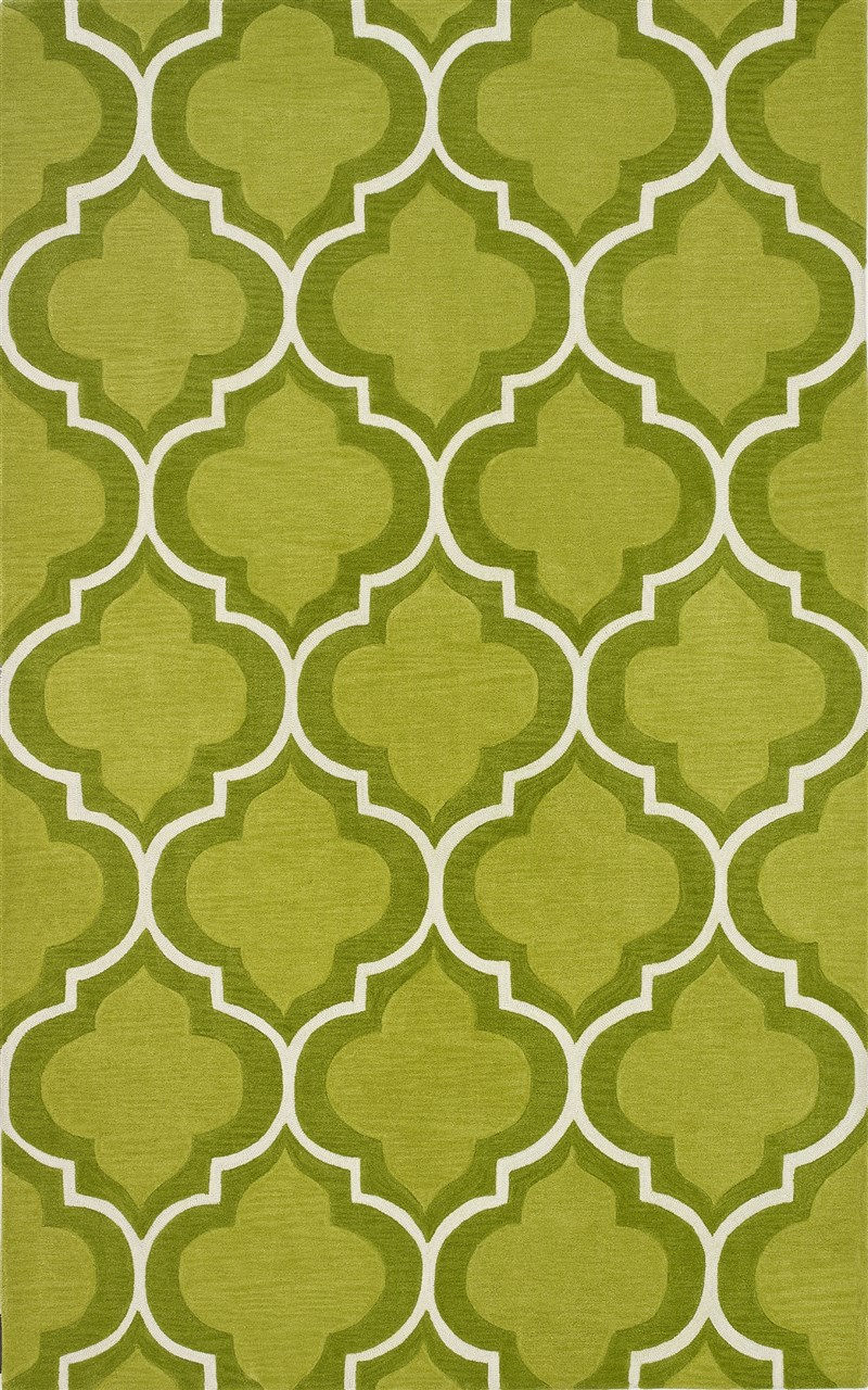 Contemporary Forever Lime 9'x13' Rug