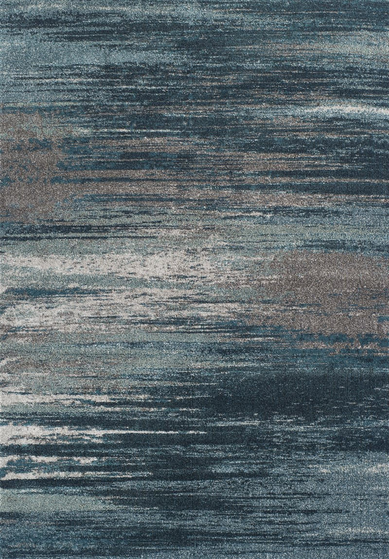 Dalyn Modern Greys Mg599 Teal Rug