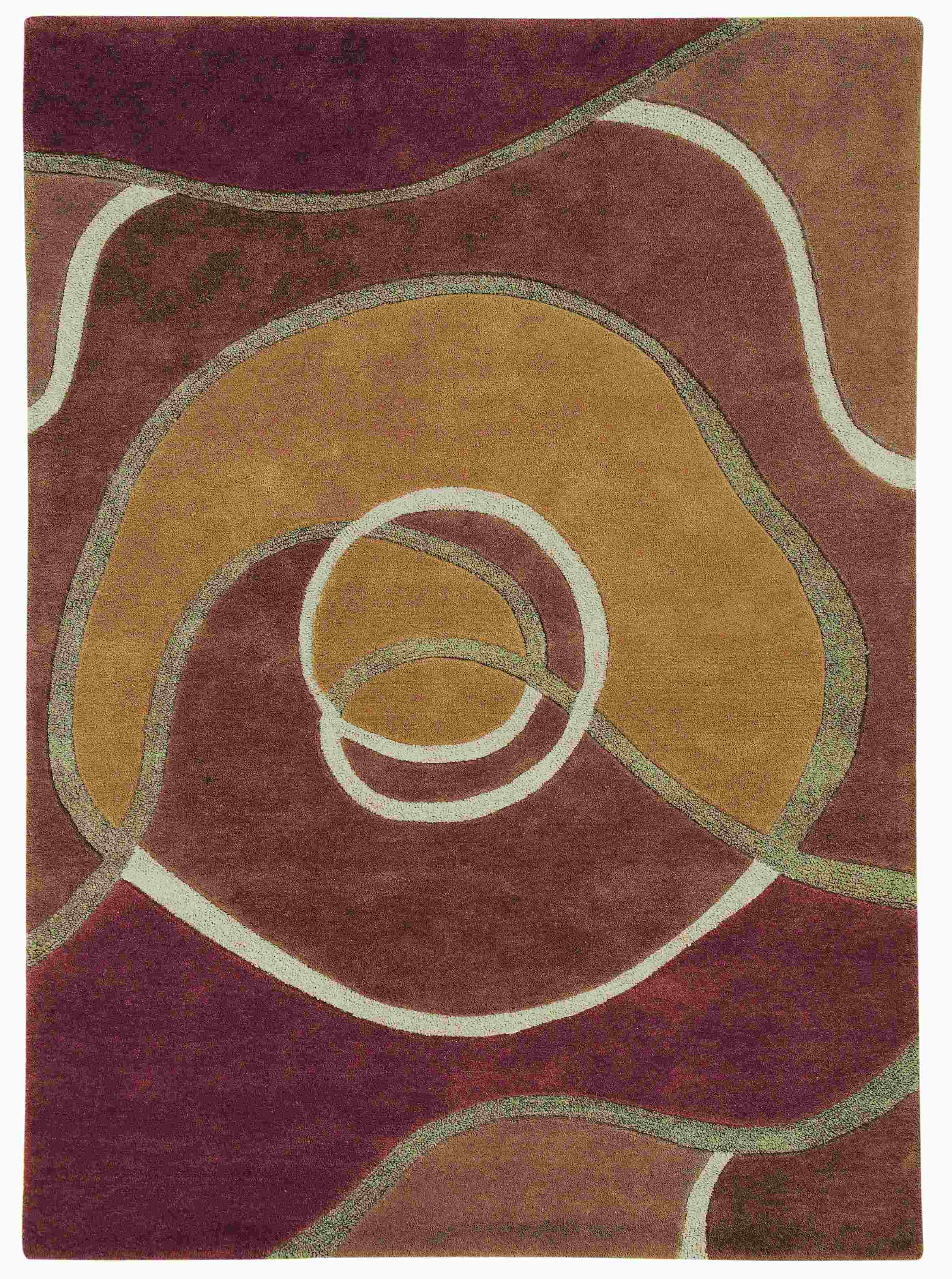 Dynamic Rugs Allure Abstract Tan 1905 Area Rug