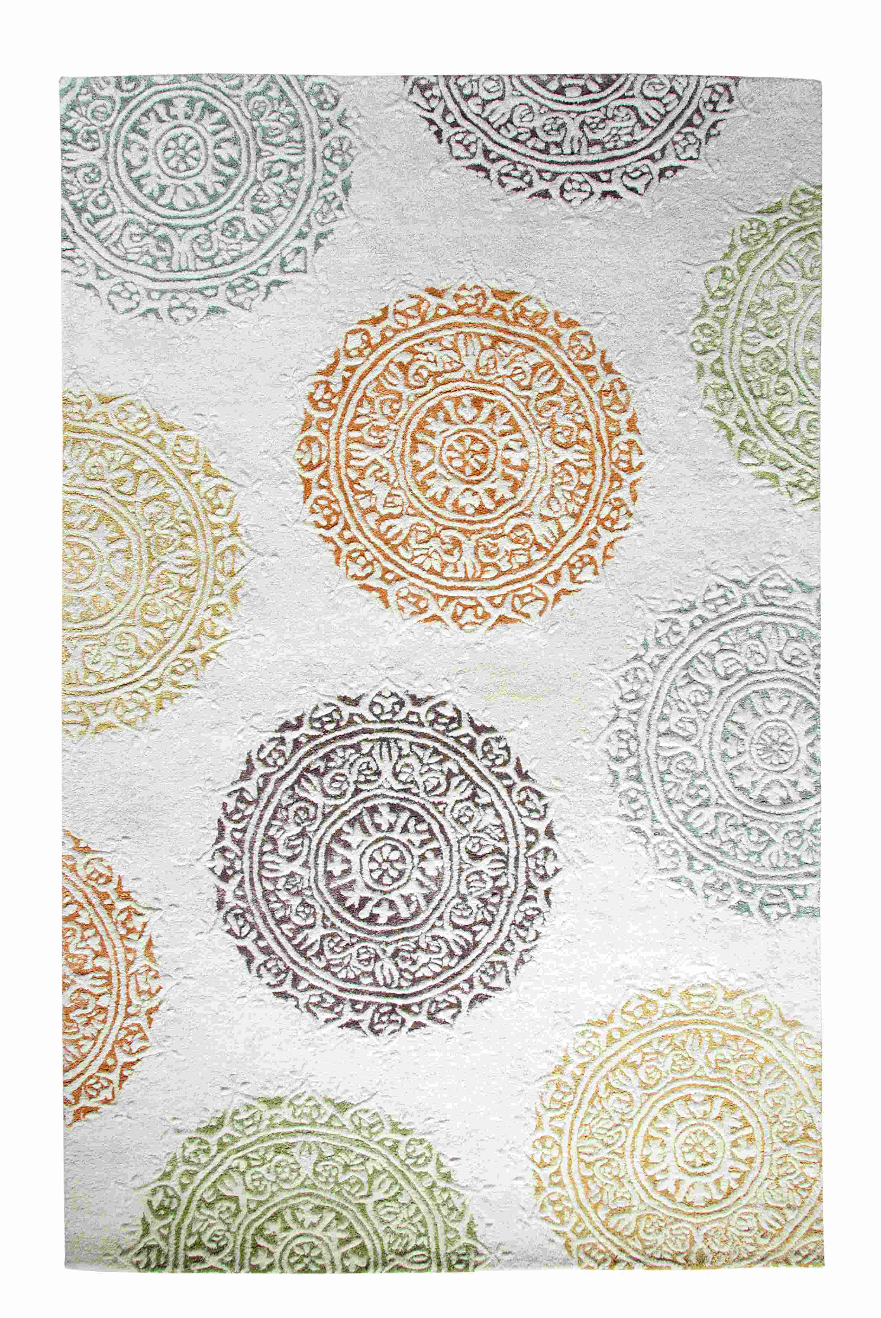 Dynamic Rugs Allure Medallion/damask Ivory 1918 Area Rug