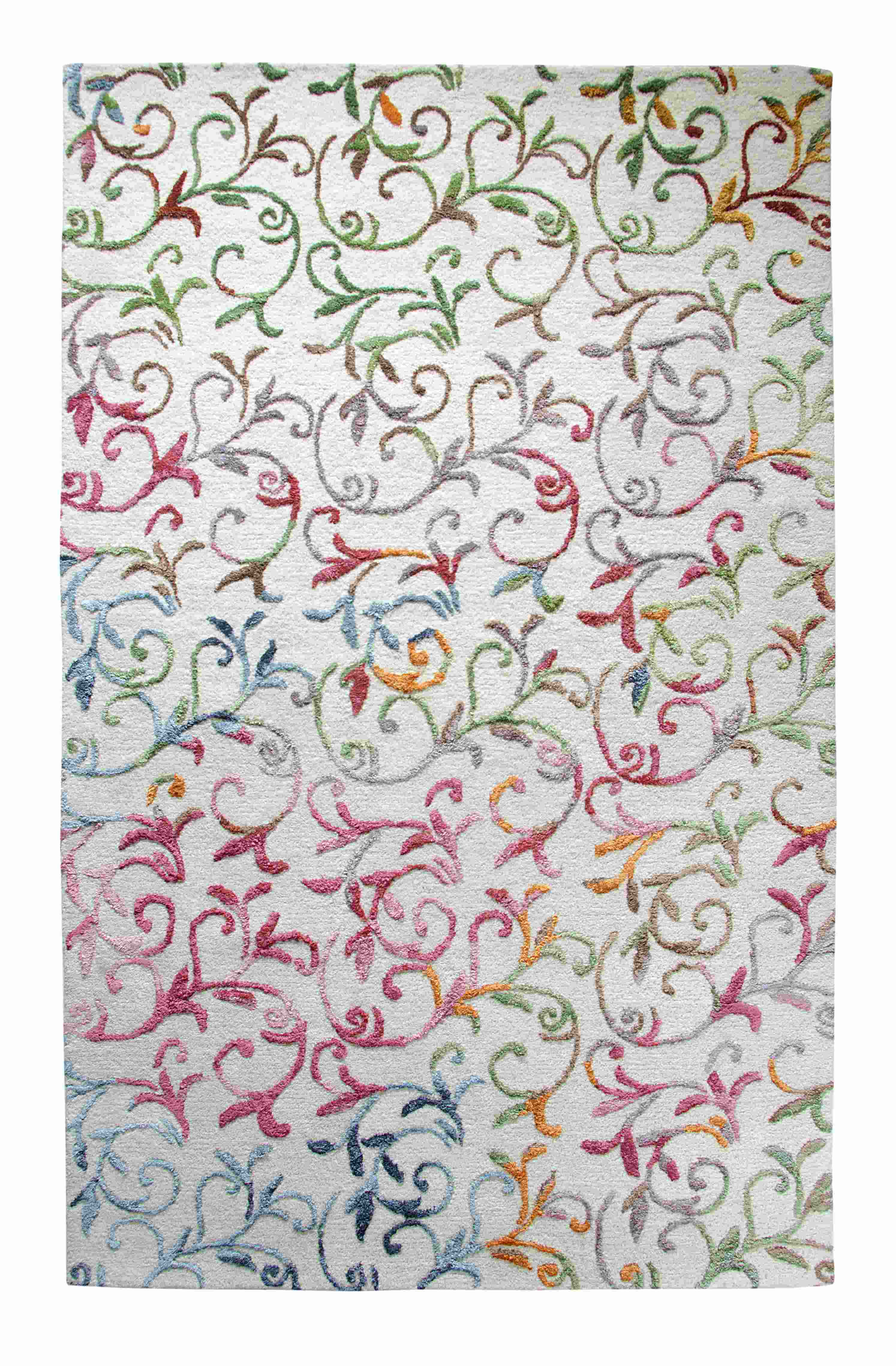 Dynamic Rugs Allure Floral Beige 1996 Area Rug