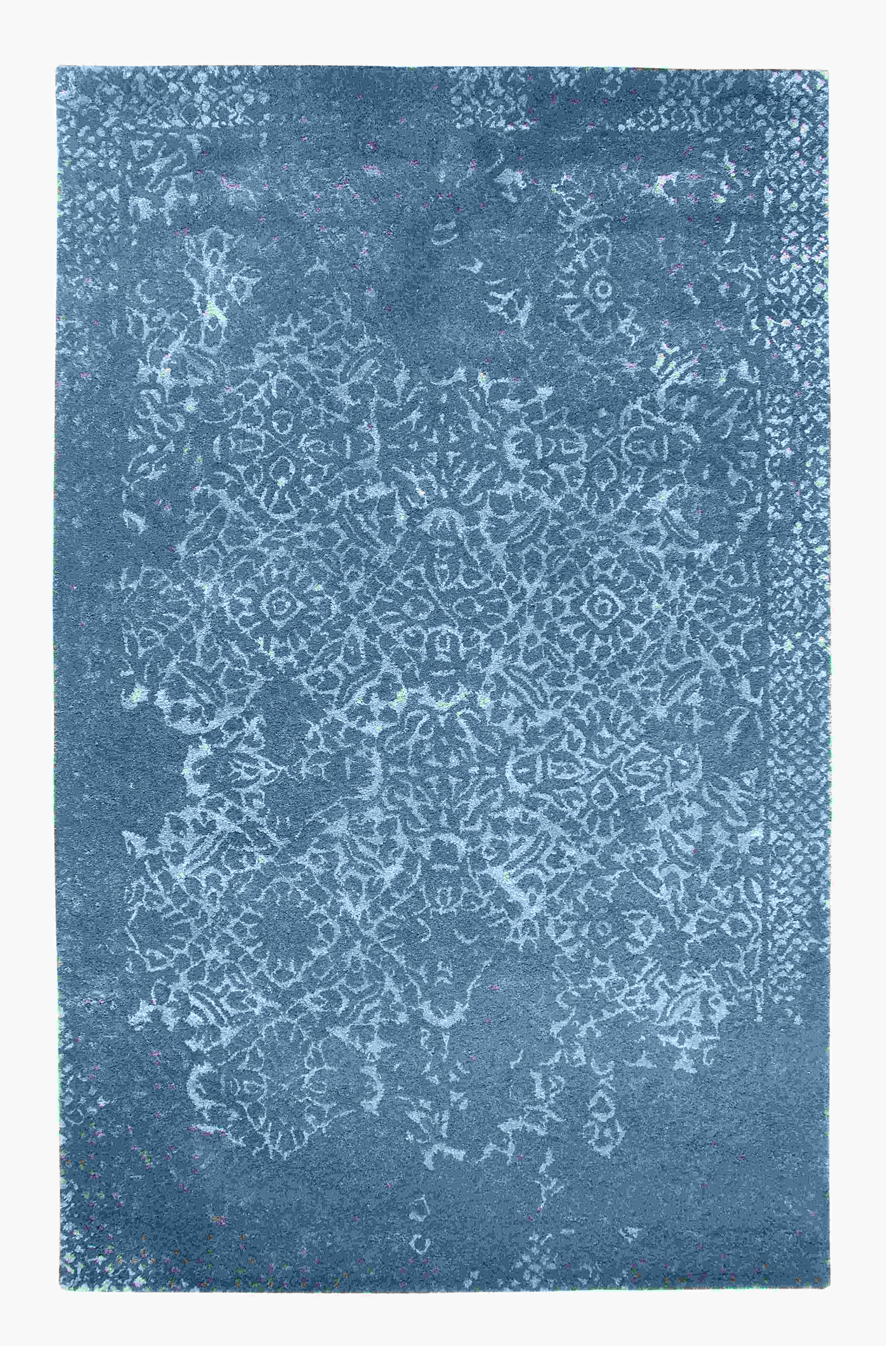 Dynamic Rugs Allure Distressed Grey 1998 Area Rug
