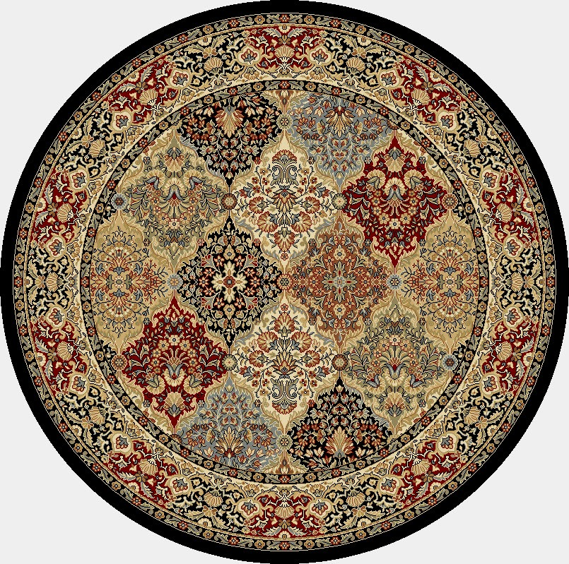 Dynamic Rugs Ancient Garden Classic Multi 57008 Area Rug