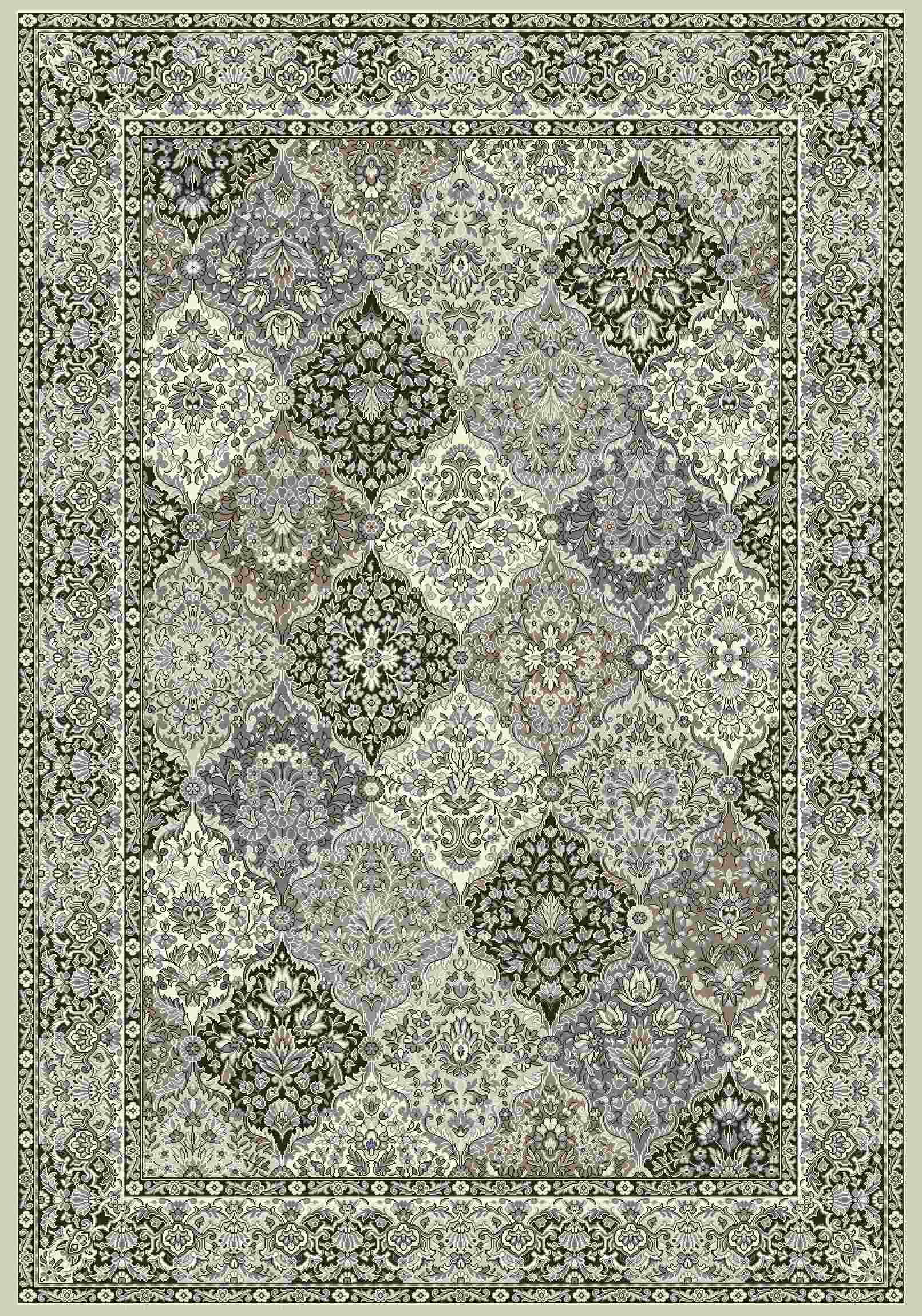 Dynamic Rugs Ancient Garden Classic Cream/grey 57008 Area Rug