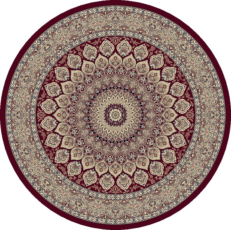Dynamic Rugs Ancient Garden Classic Red 57090 Area Rug