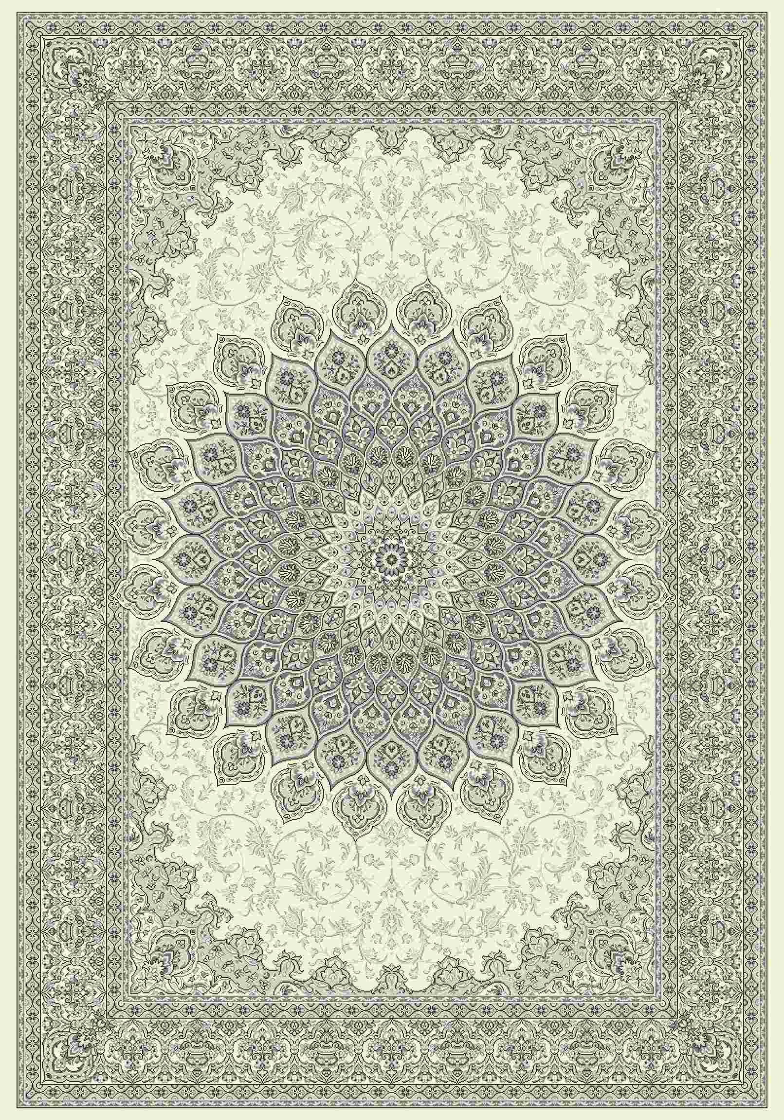 Dynamic Rugs Ancient Garden Classic Cream/grey 57090 Area Rug