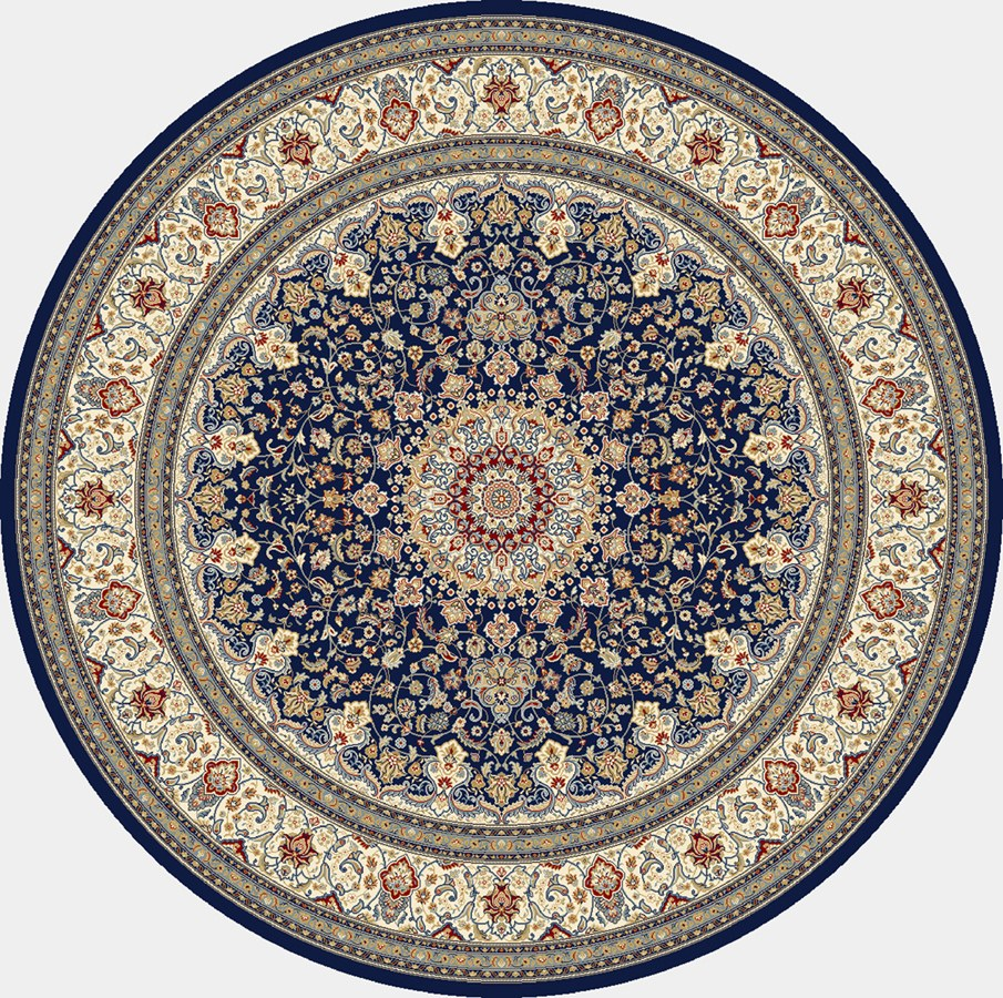 Dynamic Rugs Ancient Garden Classic Blue/ivory 57119 Area Rug