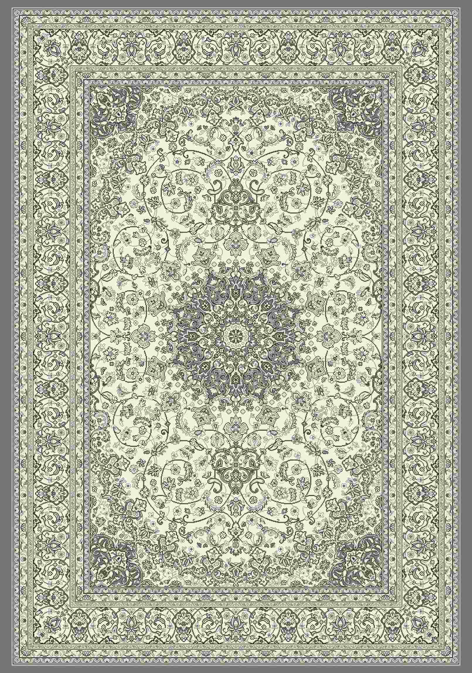 Dynamic Rugs Ancient Garden Classic Cream/grey 57119 Area Rug