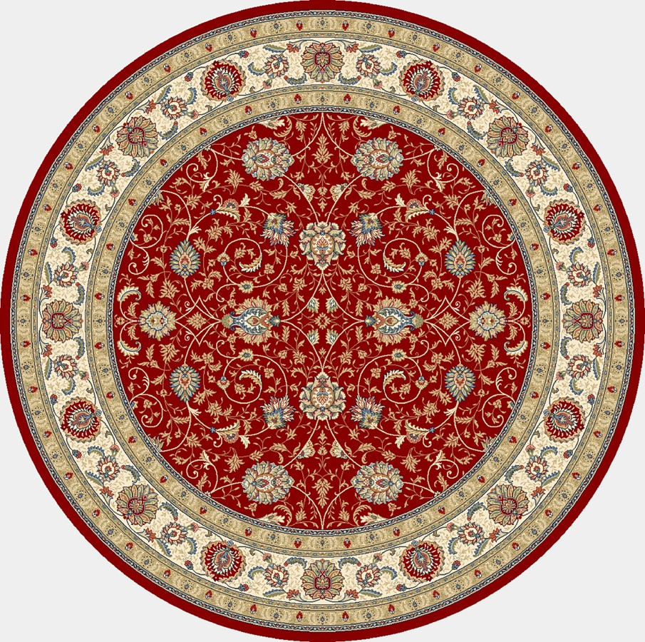 Dynamic Rugs Ancient Garden Classic Red/ivory 57120 Area Rug