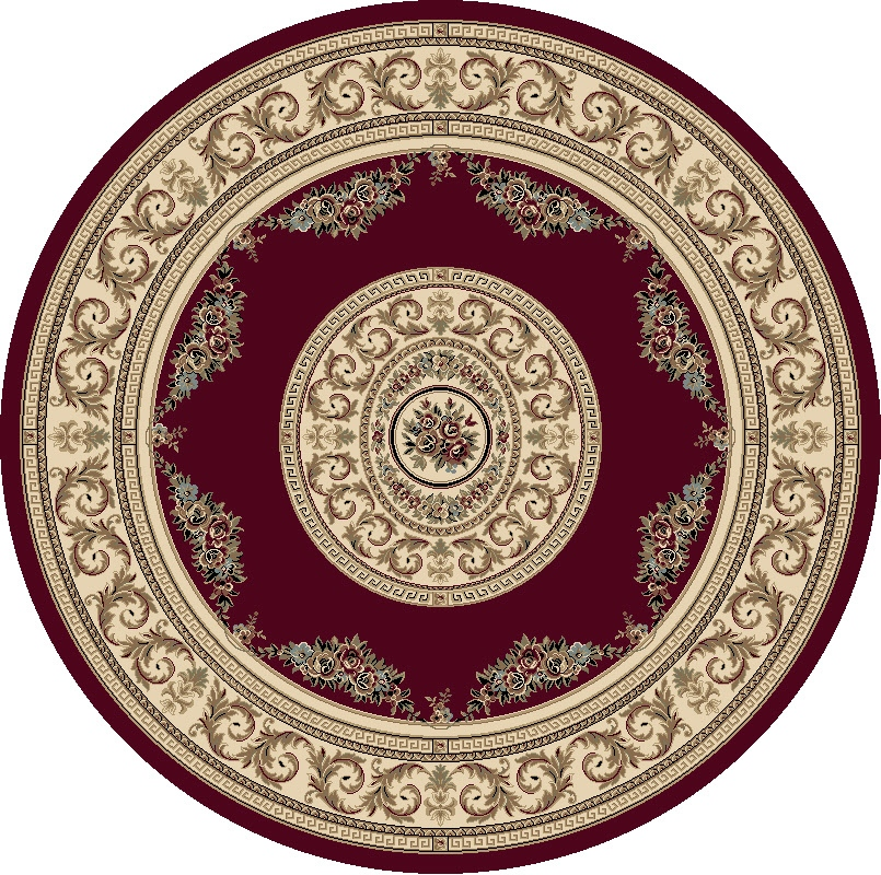 Dynamic Rugs Ancient Garden Classic Red/ivory 57226 Area Rug