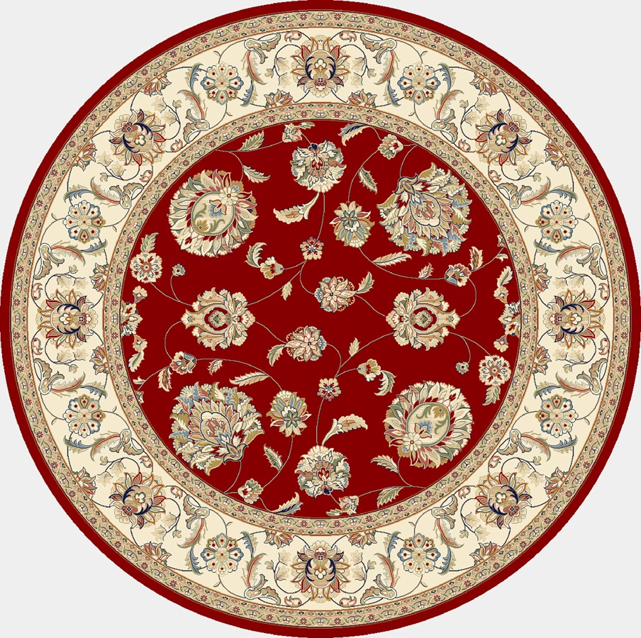 Dynamic Rugs Ancient Garden Classic Red/ivory 57365 Area Rug