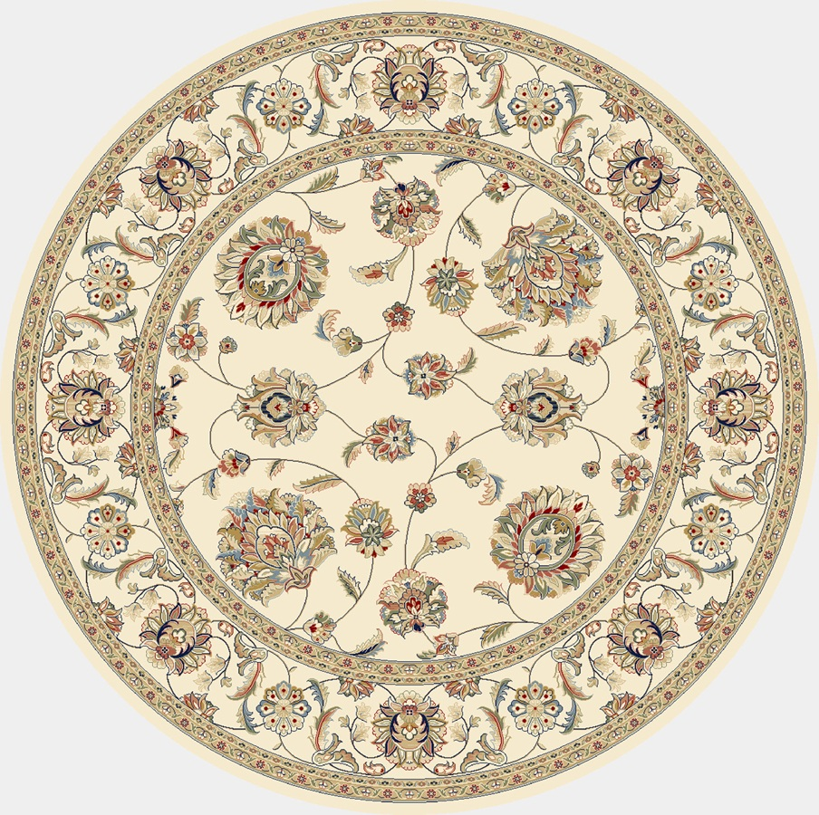 Dynamic Rugs Ancient Garden Classic Ivory 57365 Area Rug