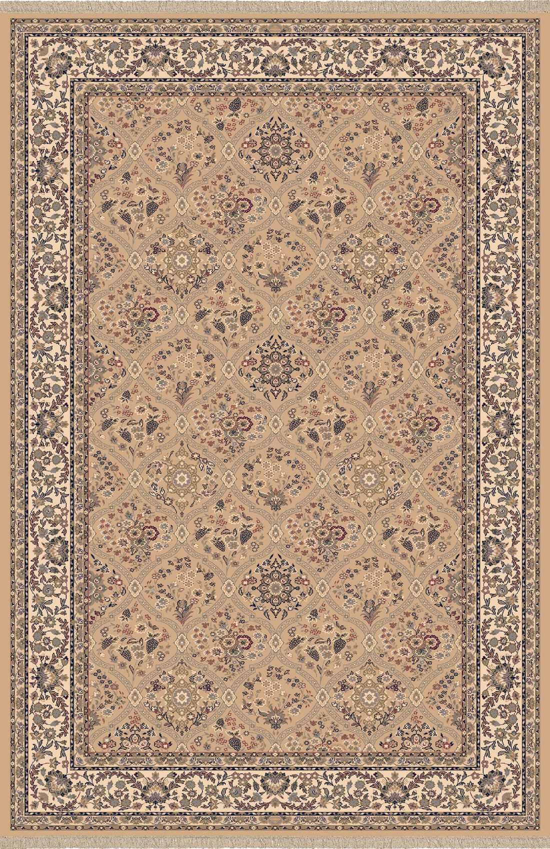 Dynamic Rugs Brilliant Classic Linen 7211 Area Rug