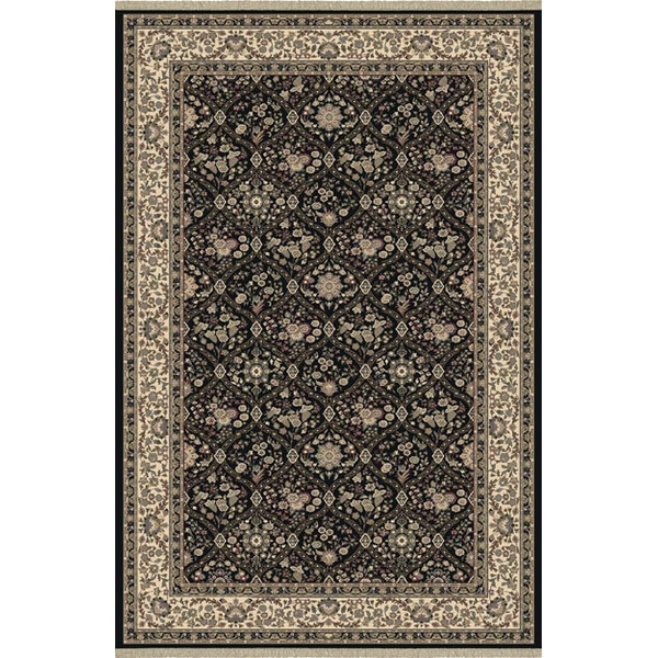 Dynamic Rugs Brilliant Classic Black 7211 Area Rug