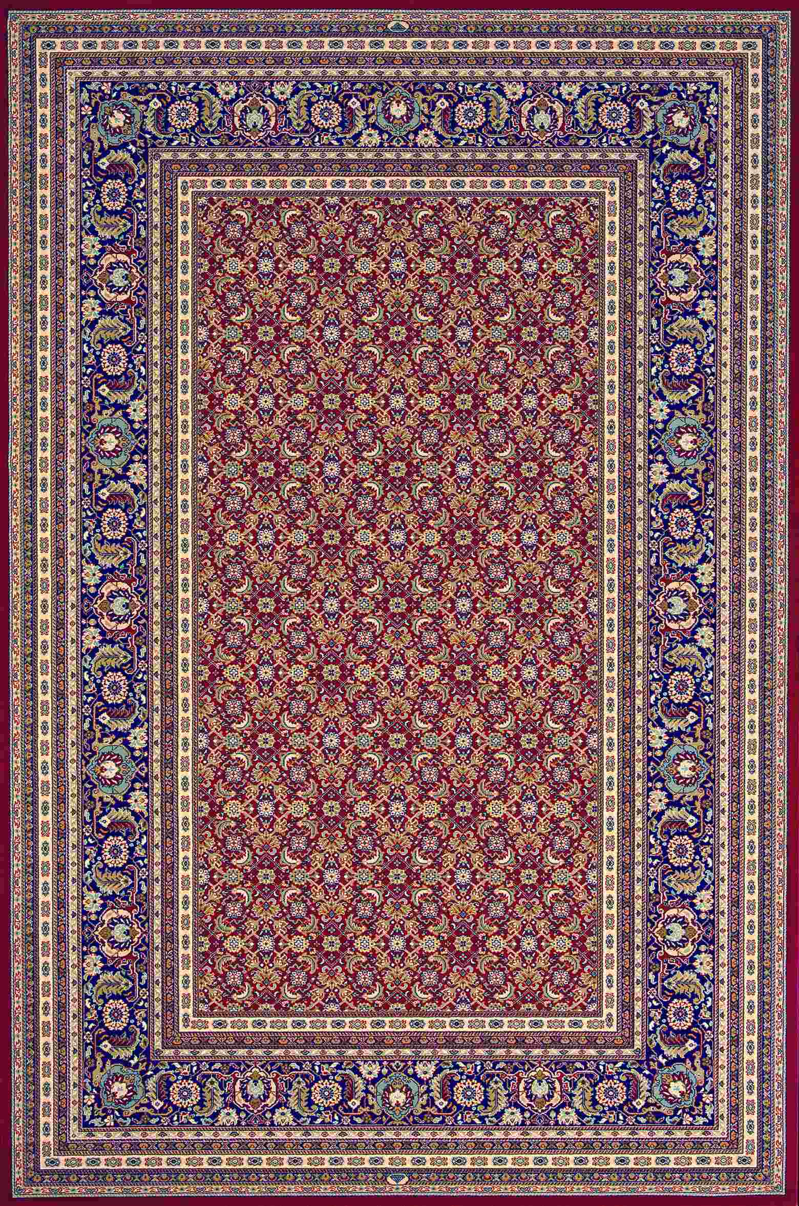 Dynamic Rugs Brilliant Classic Red 72240 Area Rug