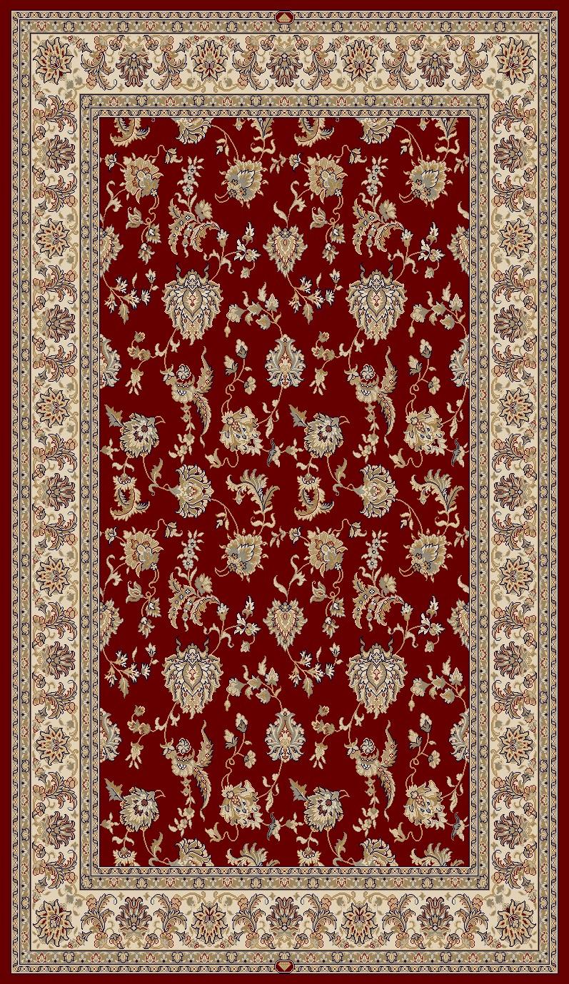 Dynamic Rugs Brilliant Classic Red 7226 Area Rug