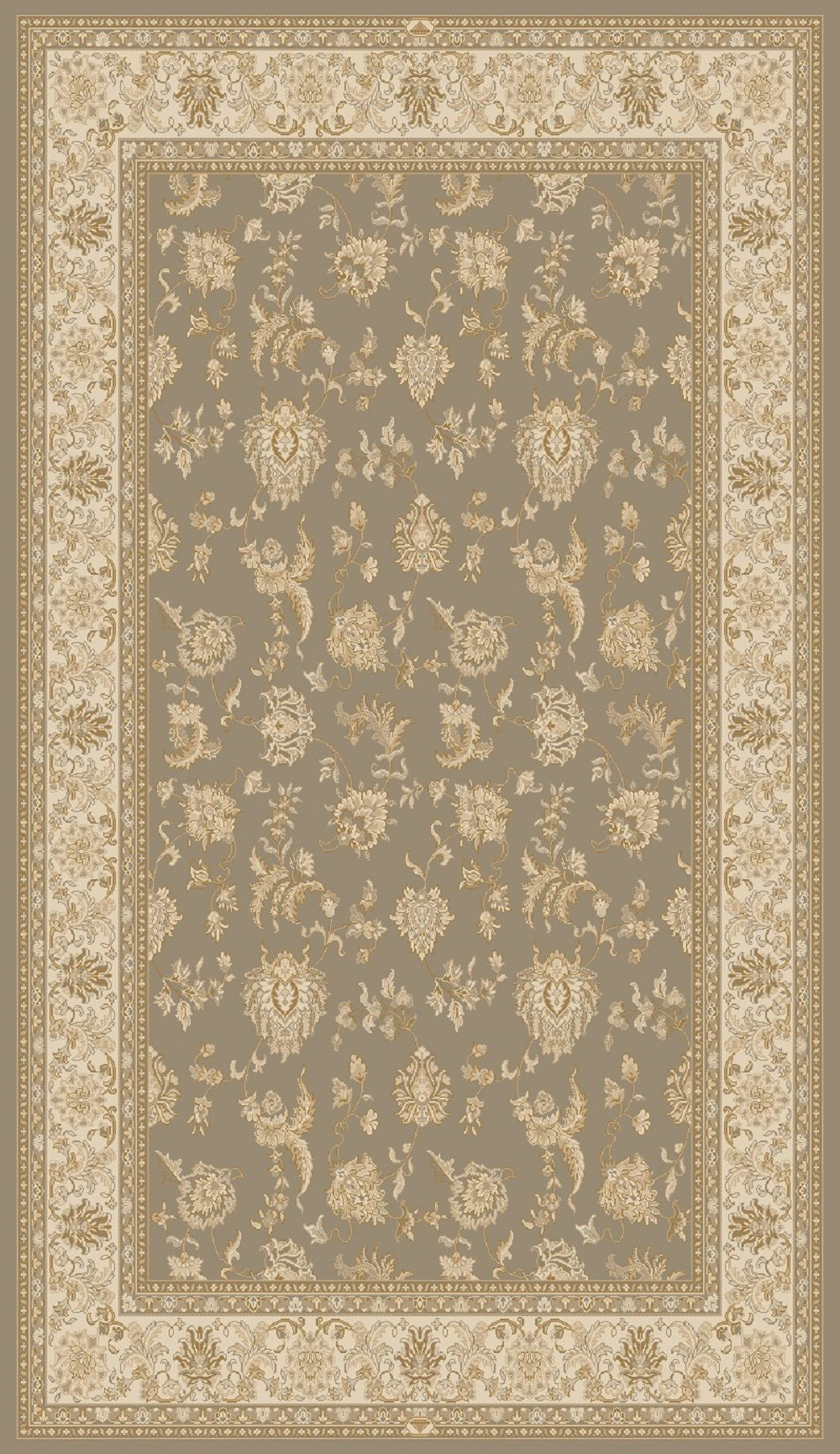 Dynamic Rugs Brilliant Classic Brown 7226 Area Rug