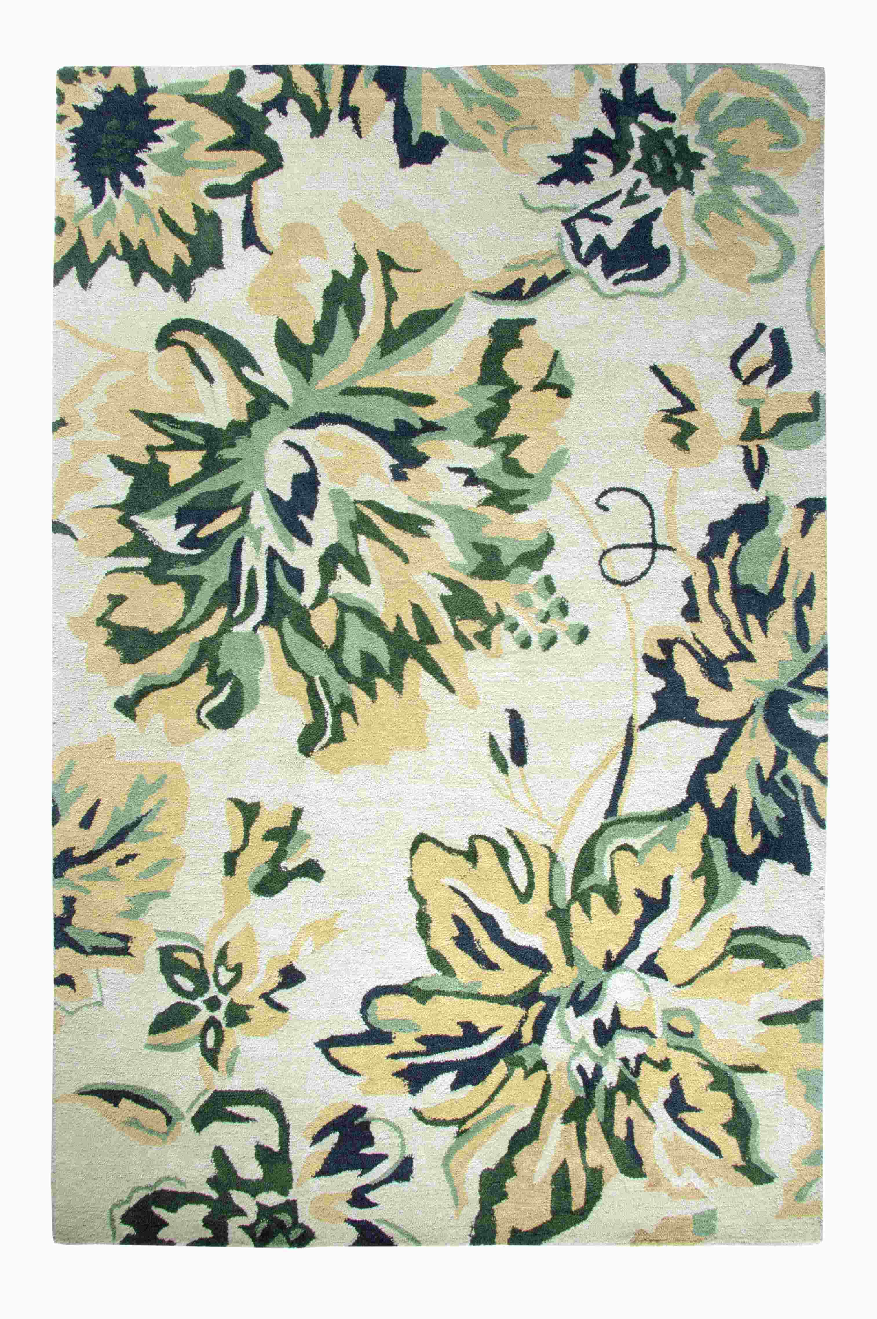 Dynamic Rugs Casual Floral Beige/green 92335 Area Rug
