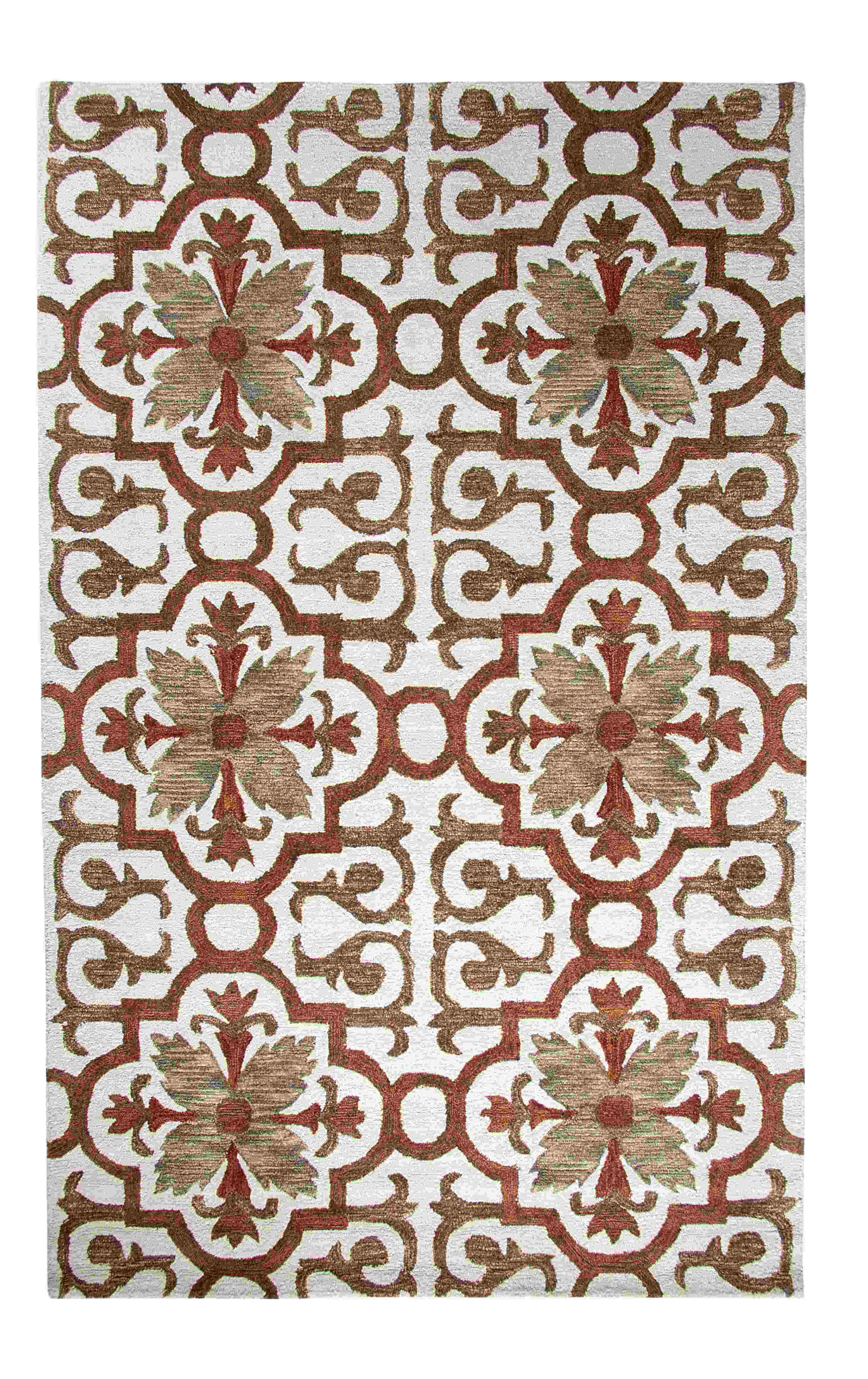 Dynamic Rugs Casual Global Rust/multi 92336 Area Rug