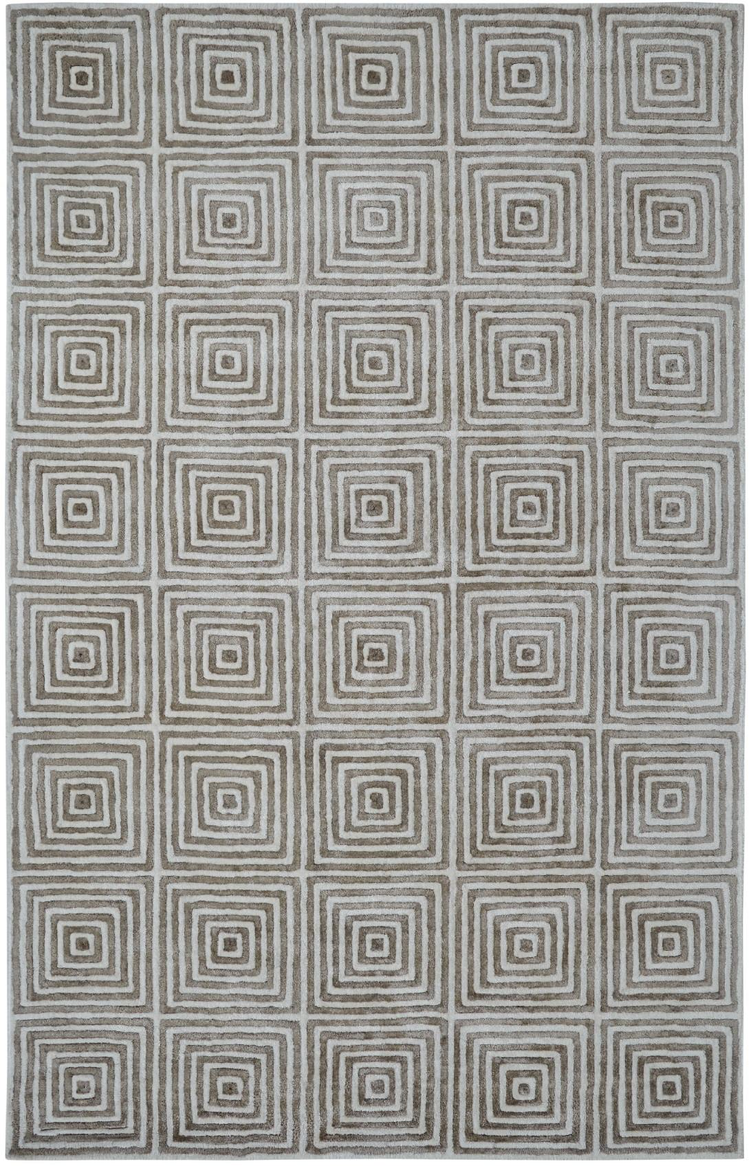 Dynamic Rugs Celeste Geometric Ivory/grey 99226 Area Rug