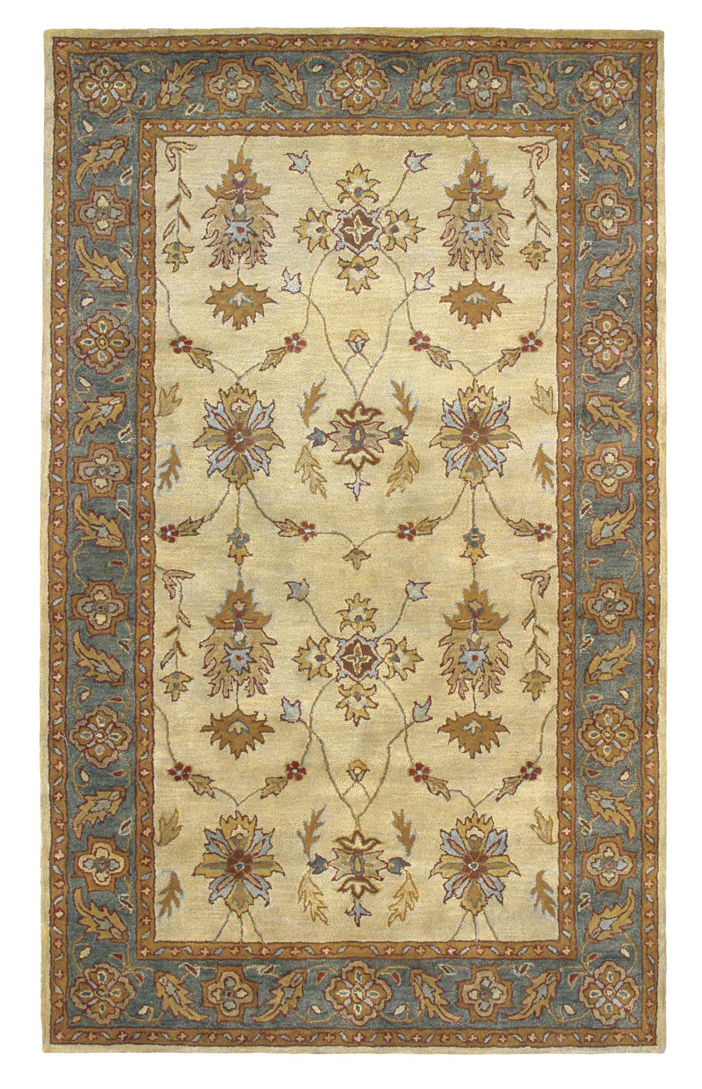 Dynamic Rugs Charisma Classic Blue 1403 Area Rug