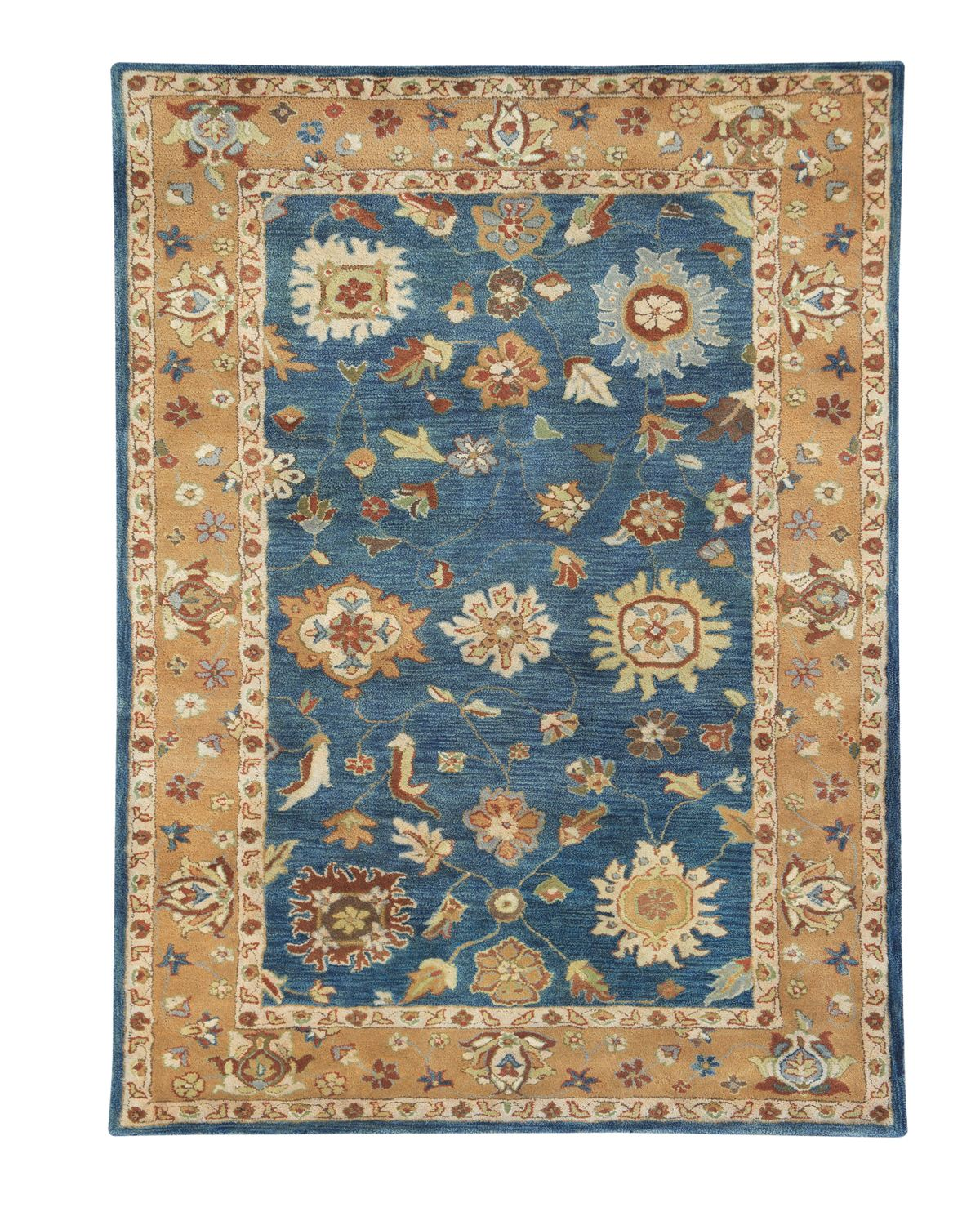 Dynamic Rugs Charisma Classic Medium Blue 1409 Area Rug