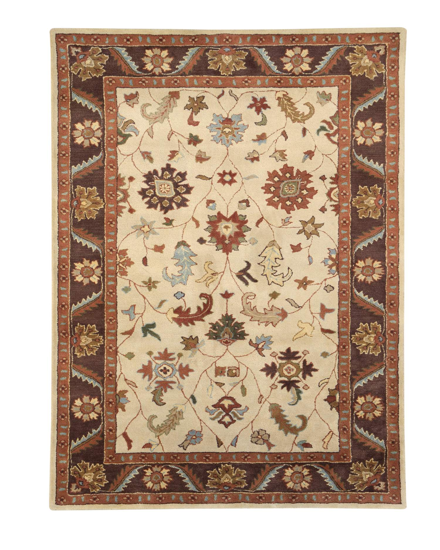 Dynamic Rugs Charisma Classic Brown 1411 Area Rug