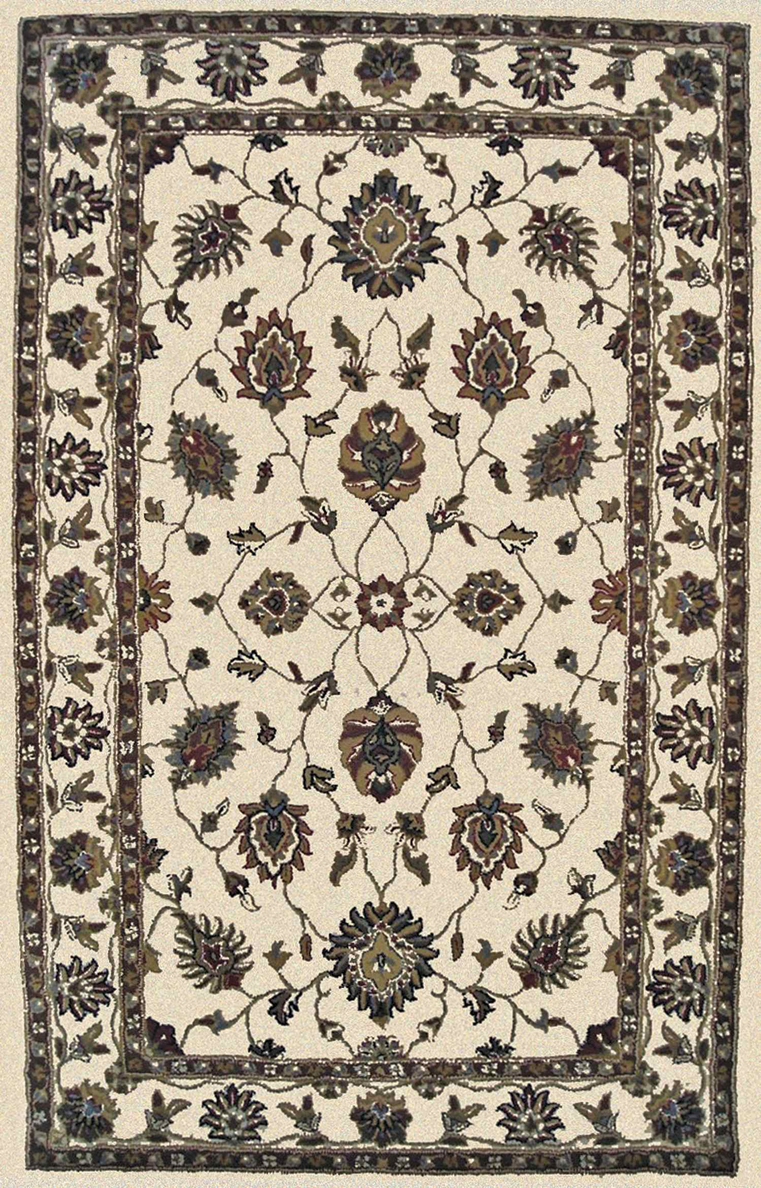 Dynamic Rugs Charisma Classic Ivory 1412 Area Rug