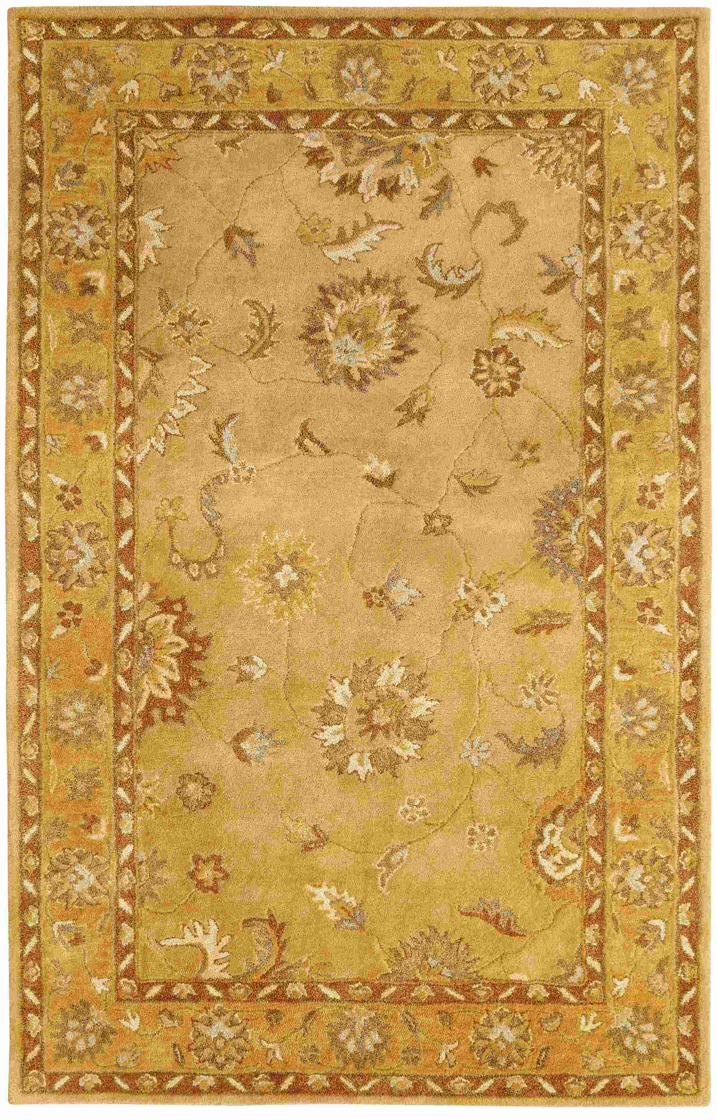 Dynamic Rugs Charisma Classic Gold 1416 Area Rug