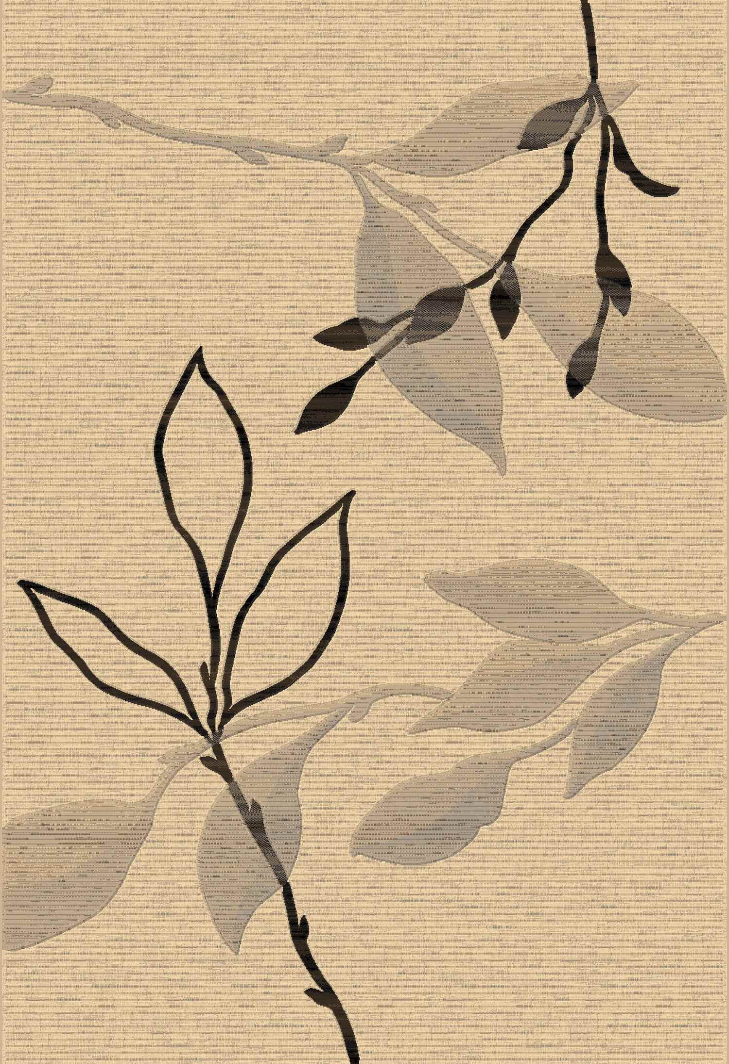 Dynamic Rugs Eclipse Floral Creme 63008 Area Rug