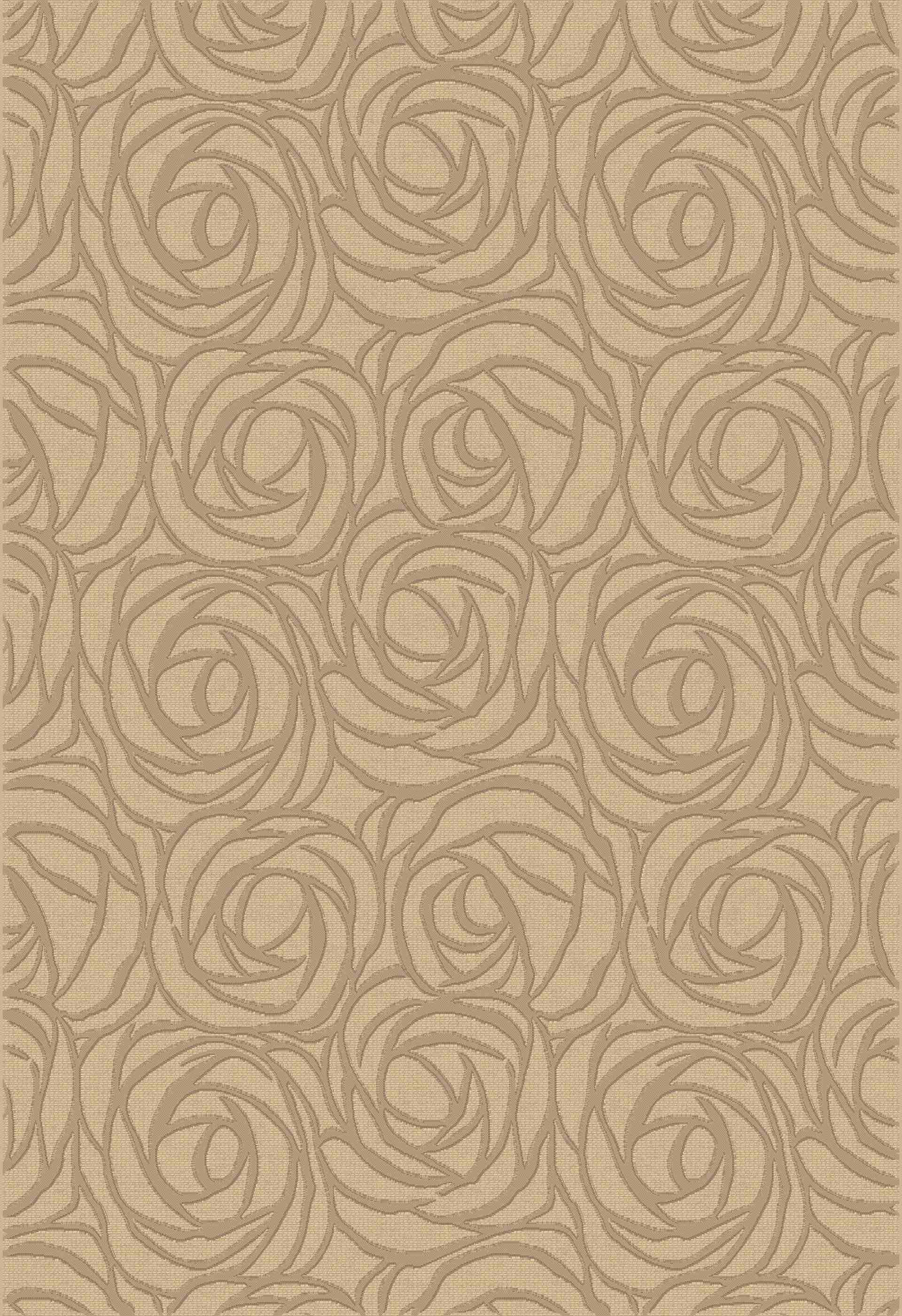 Dynamic Rugs Eclipse Floral Creme 63011 Area Rug