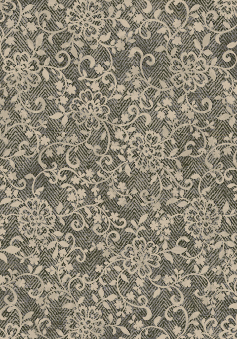 Dynamic Rugs Eclipse Floral Brown Multi 63293 Area Rug