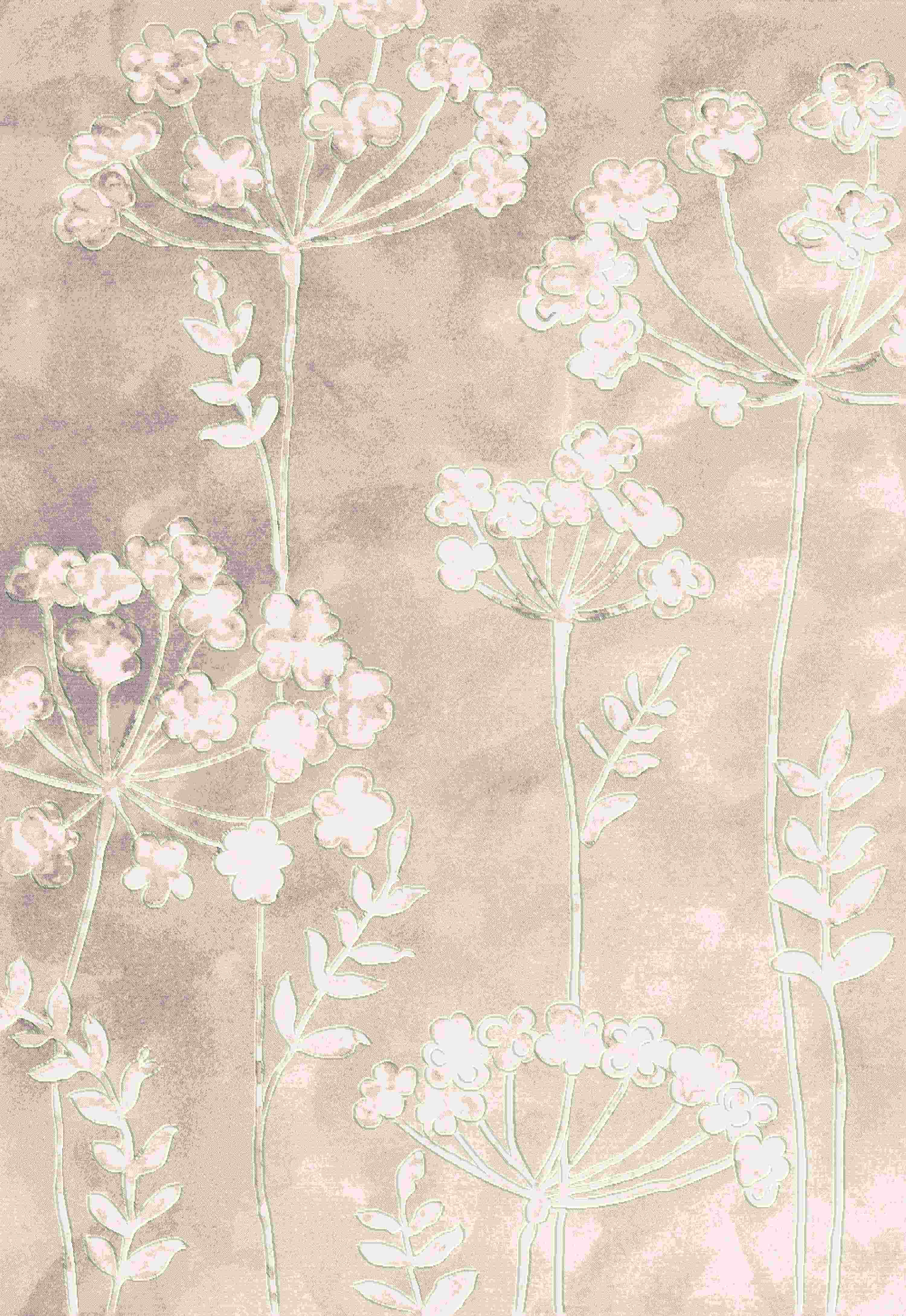 Dynamic Rugs Eclipse Floral Ivory 64237 Area Rug
