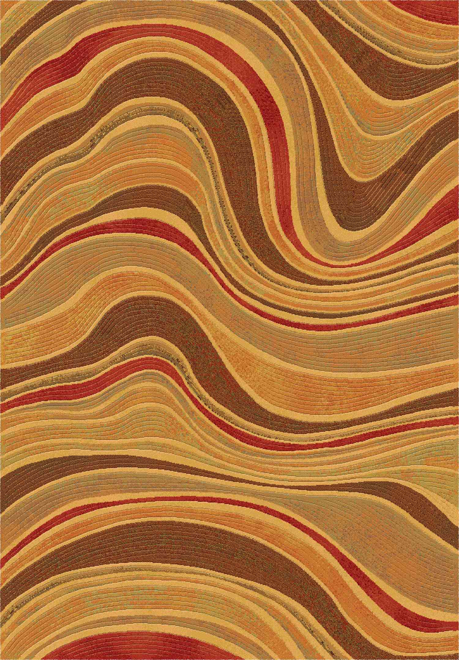Dynamic Rugs Eclipse Modern Spice 68141 Area Rug