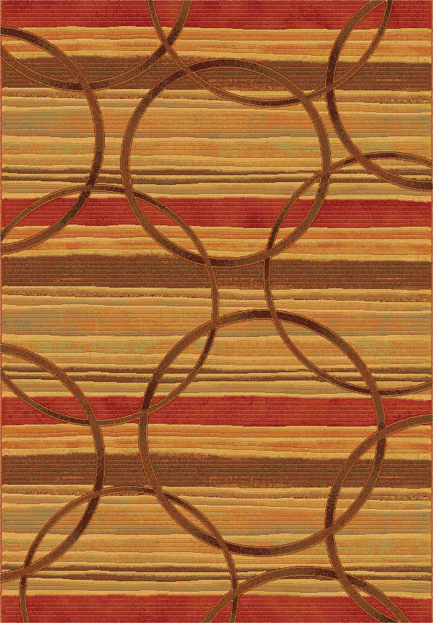 Dynamic Rugs Eclipse Modern Spice 68146 Area Rug
